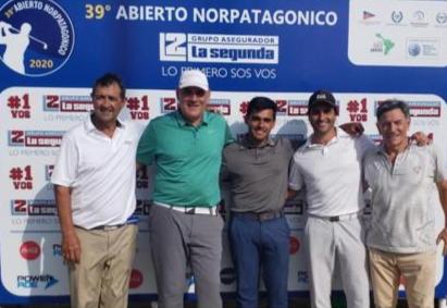Mariano Benítez ganó el Pro Am del Norpatagónico