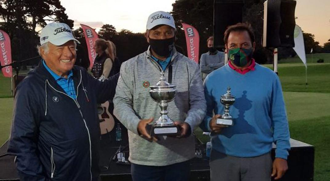 Ricardo González ganó en Mar del Plata su primer título como veterano