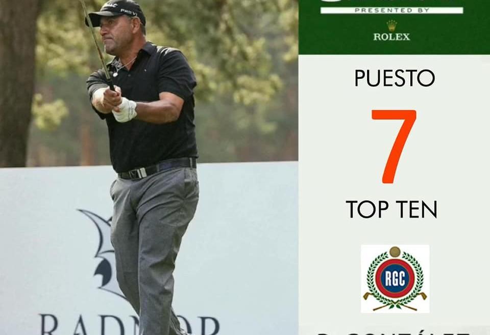 Felicitaciones Ricardo González por la tremenda actuación en The Senior Open!!