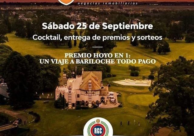 Sábado 25/9 en el Rosario Golf Club